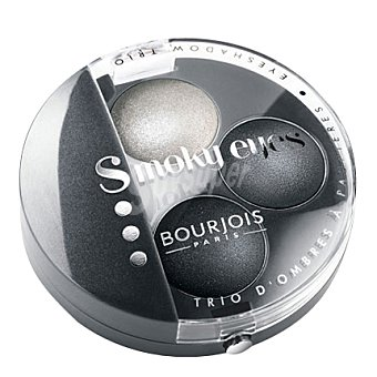 Bourjois Paris Sombra ojos trio smoky eyes gris dandy 1 ud