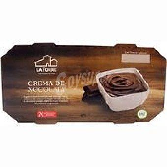 LATORRE Crema de xoco Pack 2x120 g
