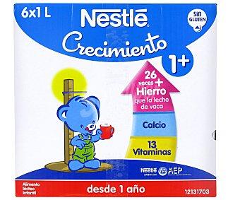Nestlé Crecimiento Leche de Crecimiento Brik 6 Unidades