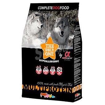 Alpha Spirit Pienso para perros adultos pequeños, medianos y garndes Multiprotein 12 Kg