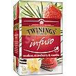Infuso infusión de roiboos, fresa y vainilla Estuche 20 bolsitas Twinings