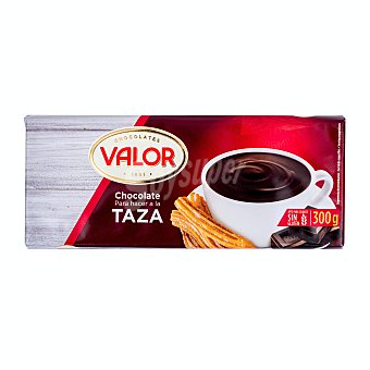 Valor Chocolate a la taza Tableta 300 g