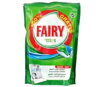 Fairy Lavavajillas Todo en 1 40+20 Dosis
