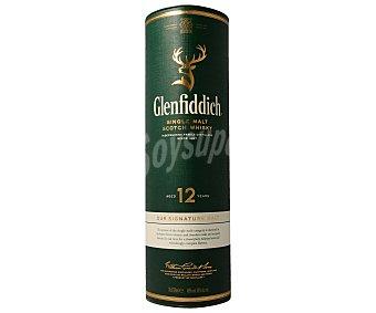 Glenfiddich whisky escocés de malta 12 años botella 70 cl