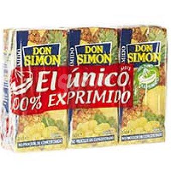 Don Simón Zumo de piña exprimida Pack 3x20 cl