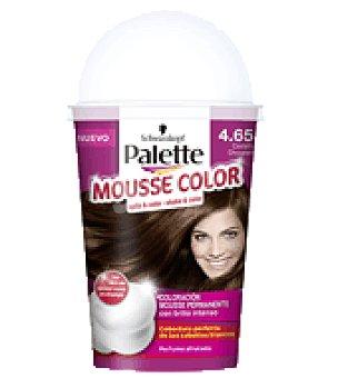 Palette Schwarzkopf Mousse Color 4.65 Castaño Chocolate 1 ud
