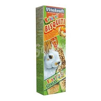Vitakraft Bizcochos conejos enanos manzana Pack 2 x 50 gr