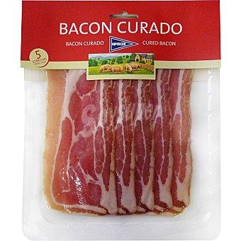 Hipercor Bacon curado en lonchas envase 150 g Envase 150 g