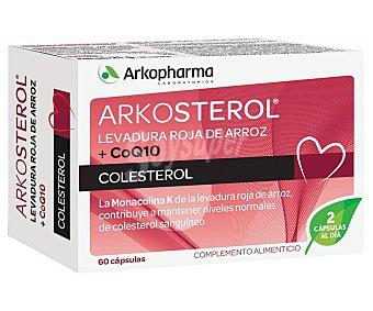 ARKOPHARMA Arkosterol Complemento alimenticio para el mantenimiento de los niveles de colesterol 60 uds