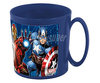 Marvel Taza apta para microondas con diseño de Los Vengadores, 0,36 litros de capacidad, modelo Avengers 1 unidad