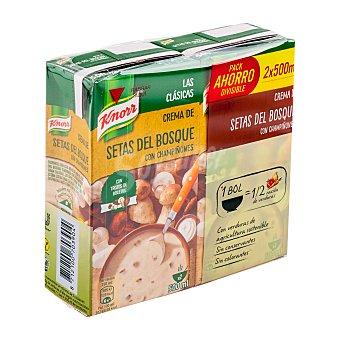 Knorr Crema líquida setas del bosque con champiñones 2 unidades de 500 cc (1 L)