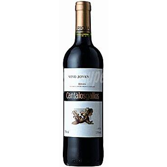 Cantalosgallos Vino tinto joven D.O. Rioja Botella 75 cl