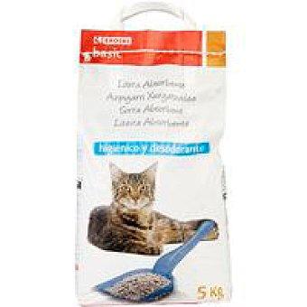 Eroski Basic Arena para gatos Saco 5 kg