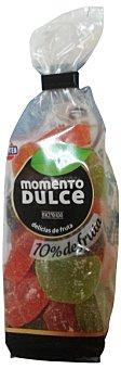 Hacendado Gominolas momento dulce (10% fruta, mas natural y tierna) Paquete 200 g