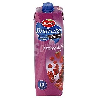 Juver Néctar sin azúcar añadido Exótico sabor frutos rojos 1 l