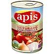 Tomate natural triturado con cebolla Lata 410 g Apis