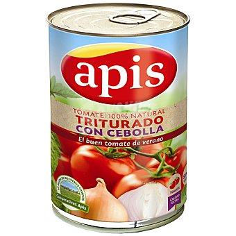 Apis Tomate natural triturado con cebolla lata 410 g