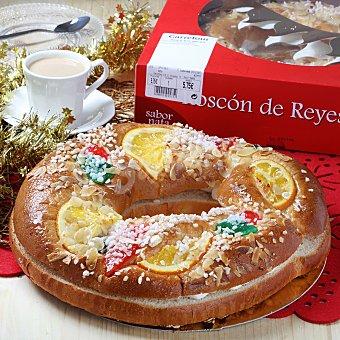 Carrefour Roscón de reyes sabor nata 1 ud