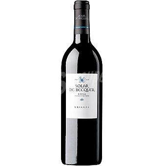 SOLAR DE BECQUER Vino tinto crianza D.O. Rioja botella 75 cl Botella 75 cl