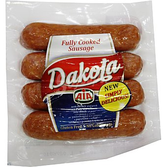 AIA Dakota salchichas de pavo y cerdo  bolsa 360 g