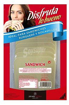 Carrefour Queso de barra para sandwich loncheado 200 g