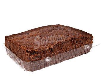 Porción de bizcocho de chocolate, 500g. 500g