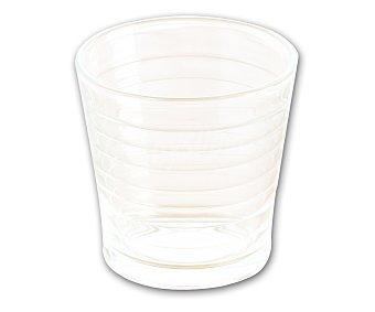 Premium glass Bandeja de vasos para agua fabricados en vidrio transparente con 29 cl. de capacidad, modelo Varadero Pack de 10 unidades