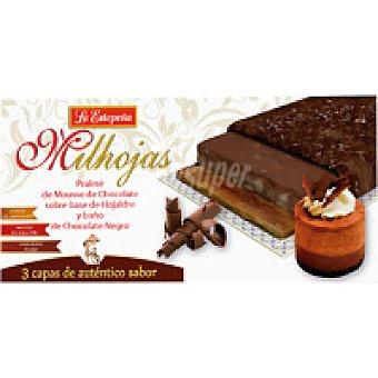 La Estepeña Turrón de milhojas-mousse de chocolate Caja 200 g