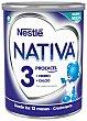 Leche infantil crecimiento 3 bote 800 gr Nativa Nestlé