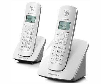 MOTOROLA C402 Teléfono inalámbrico dúo