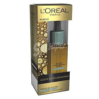 L'Oréal Aceite extraordinario rostro reequilibrante nutre ilumina y cierra los poros Dosificador 30 ml