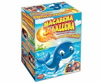 BIZAK Juego de Mesa Infantil, Macarena la Ballena, 2 o más Jugadores 1 Unidad