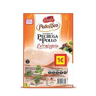 Campofrío Pechuga De Pollo Extrajugosa Lonchas 100 g