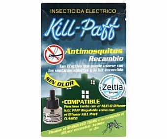 Kill-Paff Antimosquitos recambio aparato eléctrico (compatible con el nuevo difusor KILL PAFF como con el difusor KILL PAFF Clásico) 1 Unidad