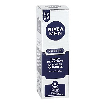 Nivea For Men Active Age Crema Hidratante de Día Antiarrugas 50 ml