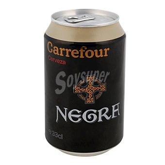 Carrefour Cerveza negra 33 cl