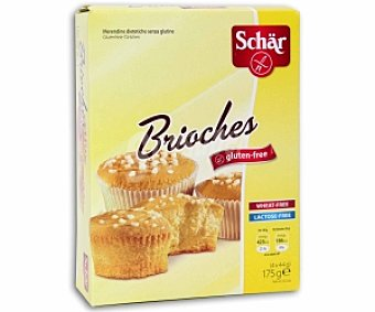 SCHAR Bollo brioches sin gluten 175 gramos
