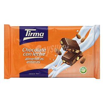 Tirma Chocolate con leche y almendras enteras Tableta 300 g