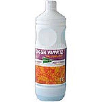 El Corte Inglés Agua fuerte Botella 1 l