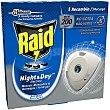 Recambio de repelente de mosquitos eléctrico night & day Caja 1 unidad Raid