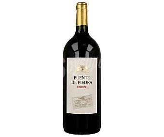 Puente de Piedra Vino tinto crianza con denominación de origen Cariñena Botella de 1,5 litros