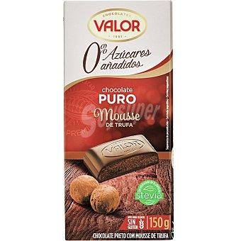 Valor Chocolate negro con mouse trufa 0% azúcares añadidos 150 g