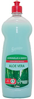 Bosque Verde Lavavajillas mano concentrado aloe Botella 1 l