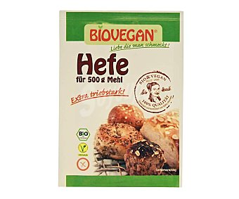 Biovegan Levadura ecológica Pack de 4 uds x 17 g