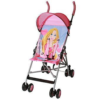 DISNEY Rapunzel silla de paseo fija en color rosa