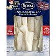 Palitos de bacalao desalado sin espinas Envase 300 g Royal