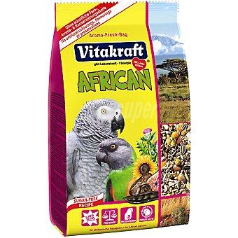 Vitakraft Alimento especial para loros africanos Paquete 750 g