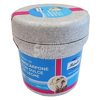 Mardel Helado mascarpone con dulce de leche 430 g