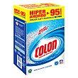 Detergente en polvo 95 cacitos Colón