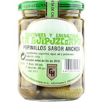 La Guipuzcoana Pepinillos sabor anchoa Frasco 200 g